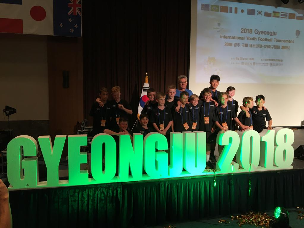 Gyeongiu 2018 team