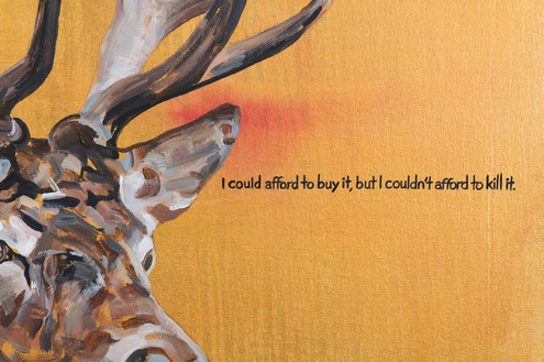 Detail from 'A Hedge Fund Manager Tries To Attain Internal Peace' Detail