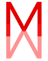 Mark Michael m m red logo for website.pn
