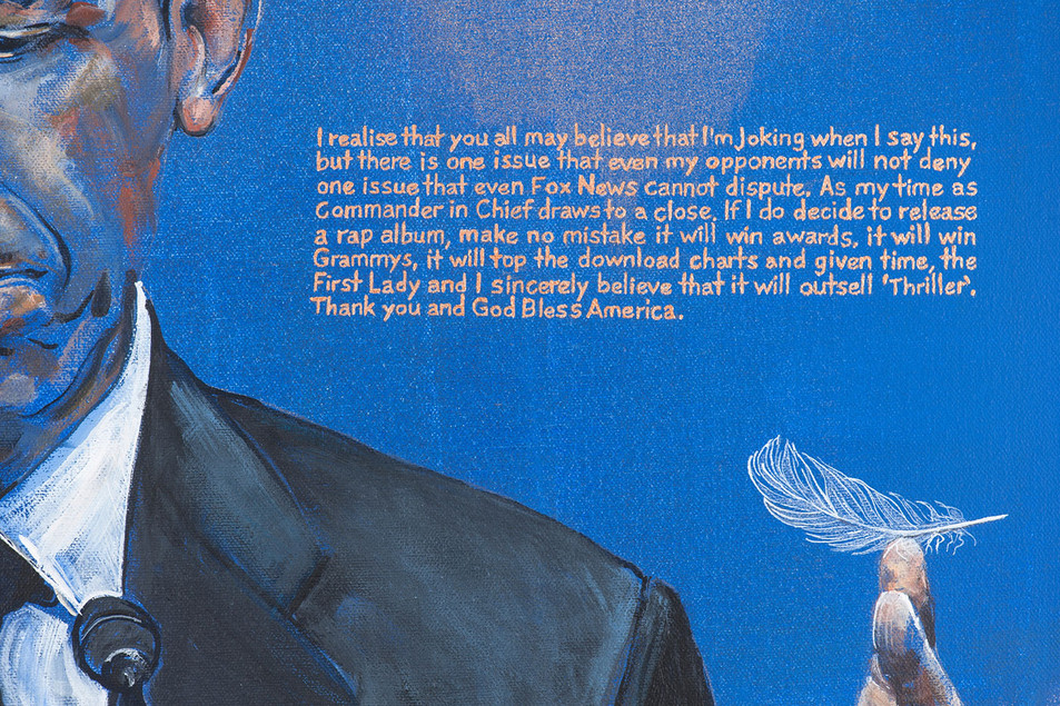 Detail from 'Life After 1600 Pennsylvania Avenue'
