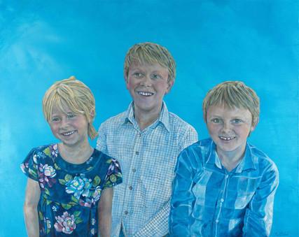 Acrylic on Canvas 80cm x 100cm