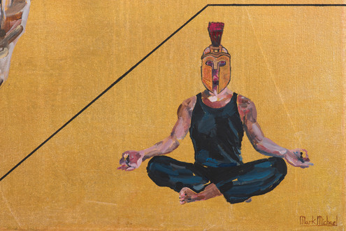 Detail from 'A Hedge Fund Manager Tries To Attain Internal Peace'