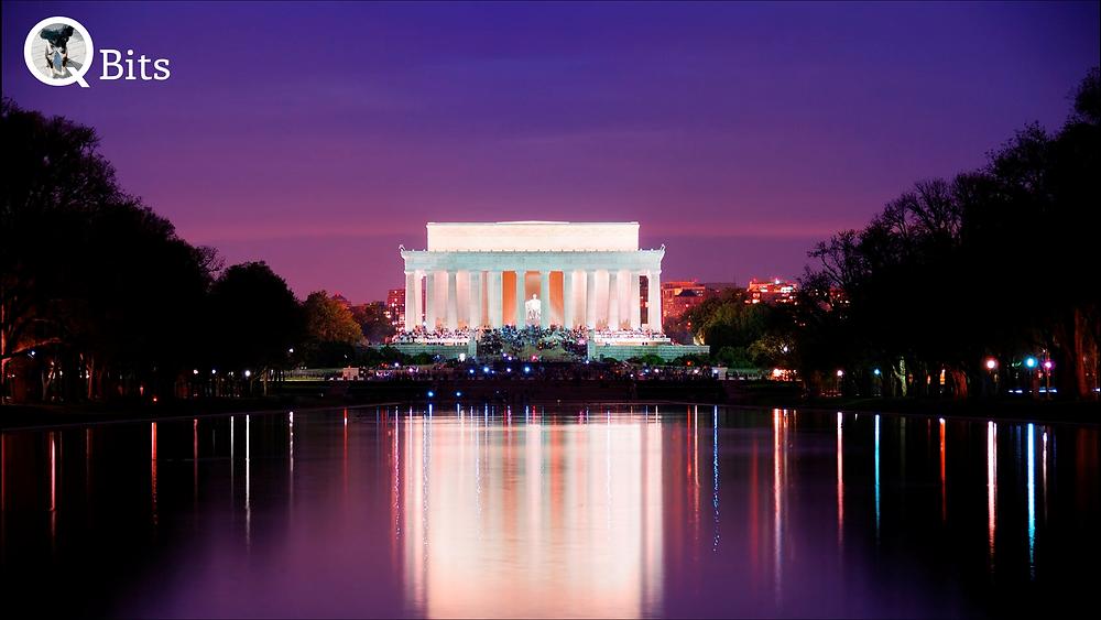 Lincoln Memorial, Sunset