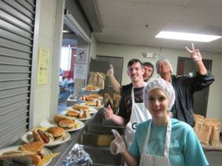 Grillin' with Atheists: Humble Beginnings and Helping Those in Need