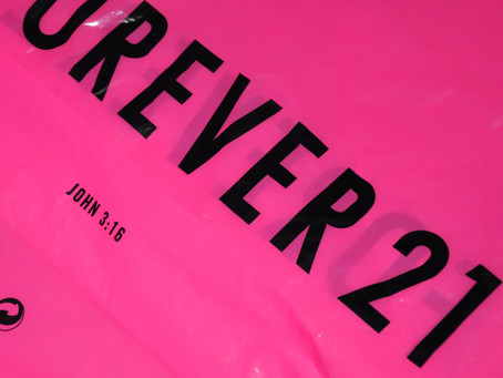 Forever 21: The Bible on Your Bag