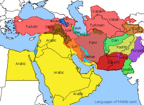 Middle-east-languages