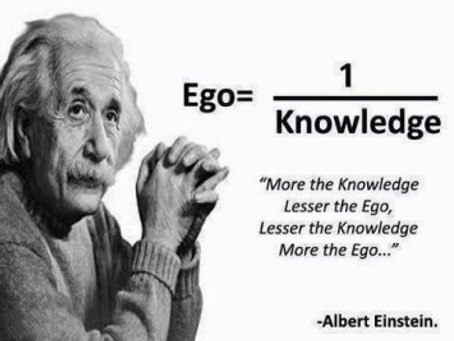 """God is just Ego, Misspelled….My Ego has Better Credentials than your Ego."""