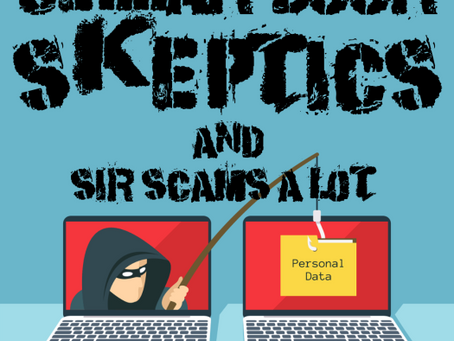 Cellar Door Skeptics #172: Sir Scams A lot