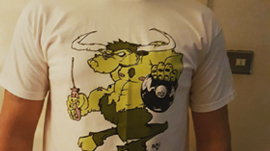 Work Hard Play Vinyl t shirts