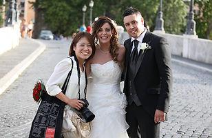 イタリア カメラマン ハネムーン