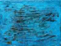 Schwarze Netze türkis umgefärbt