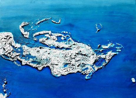 Inseln im Golf von Oman