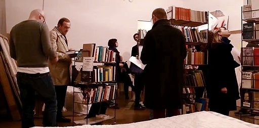 Franz West Bibliothek