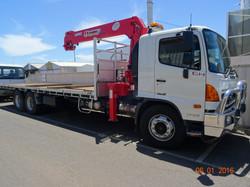 dBi Communications Crane Truck