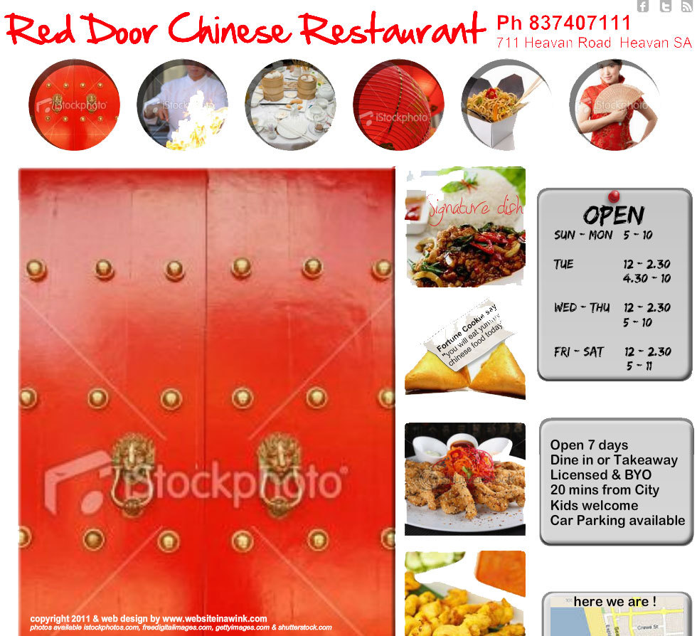 Red Door Chinese restaurant