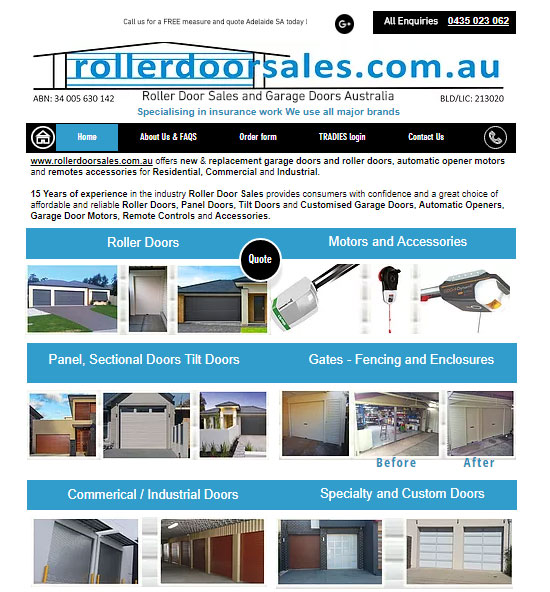 roller-door-sales-showcase-page