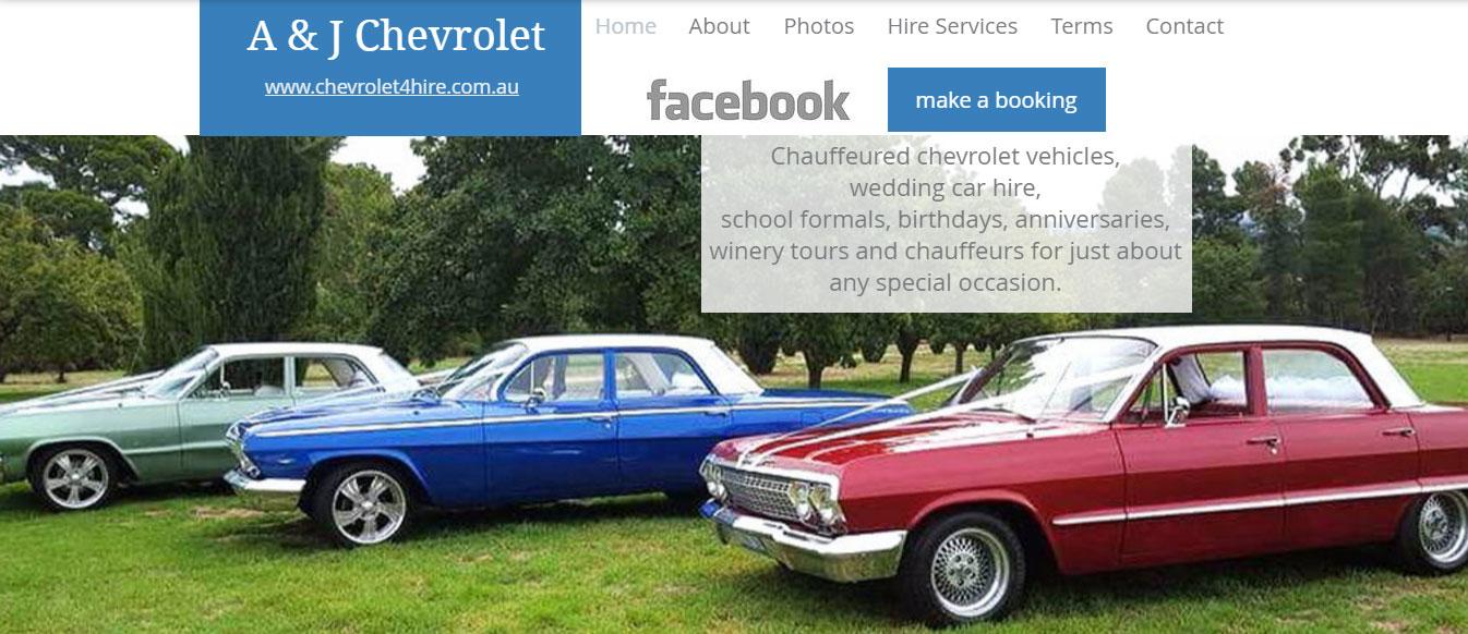chevrolet 4 hire - A & J Chevrolet