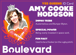 Yes Queens ID Card Amy
