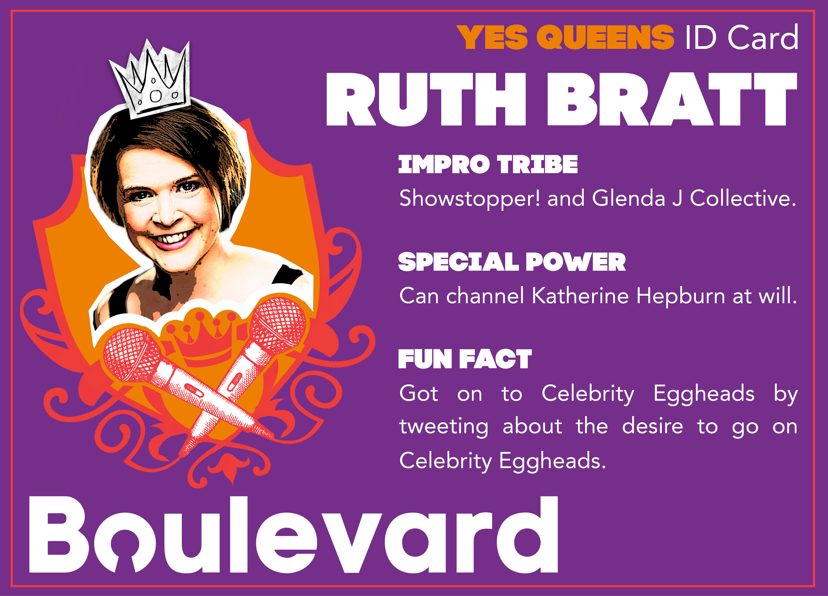Yes Queens ID Card Ruth