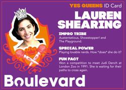 Yes Queens ID Card Lauren