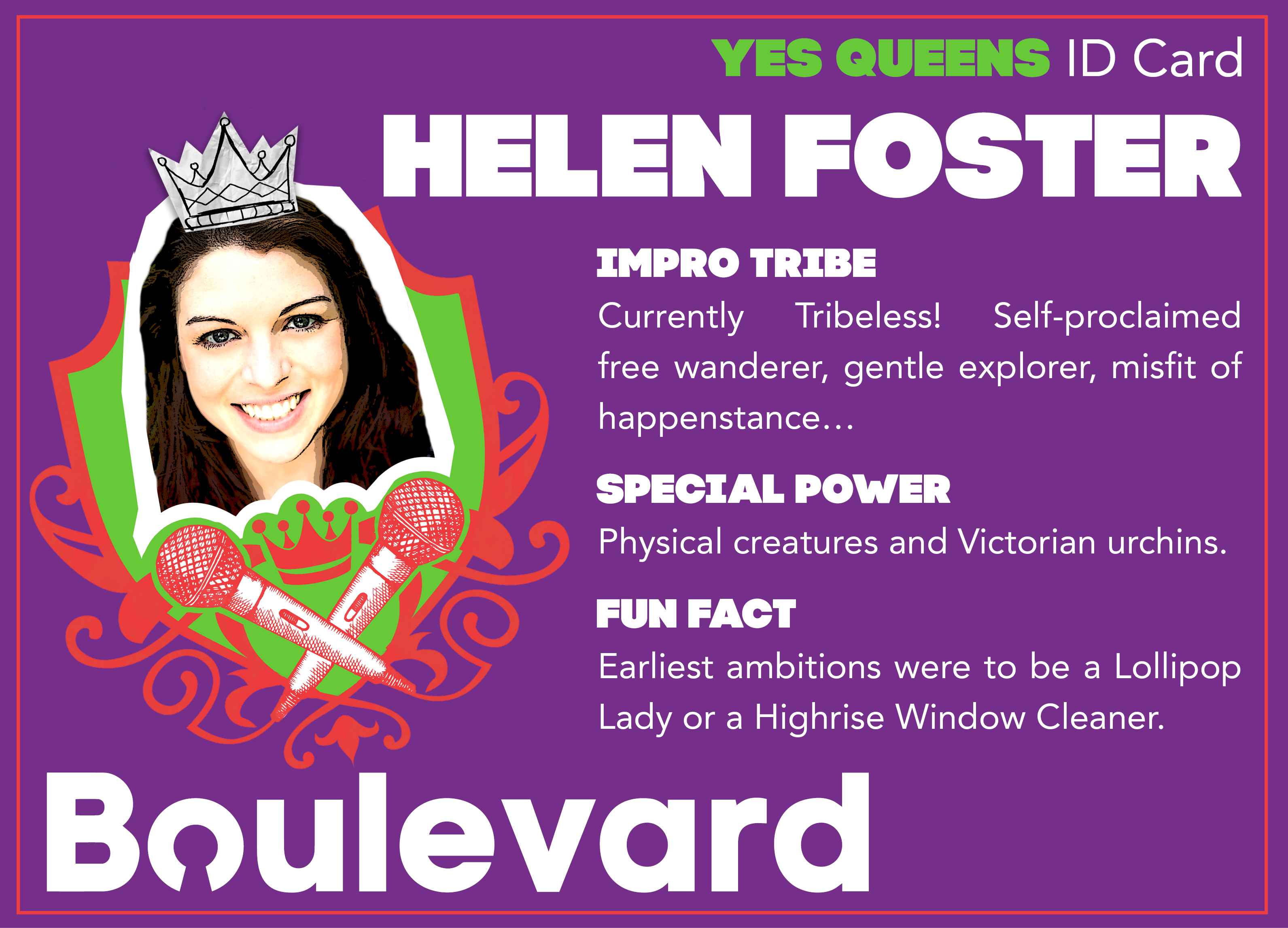 Yes Queens ID Card Helen