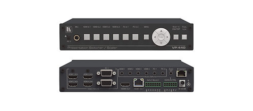 KRAMER - Compact 6–Input Presentation Switcher/Scaler with HDBaseT & HDMI