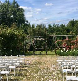 New Barn Rose Garden