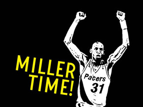 MY REGGIE MILLER NBA CARDS COLLECTION