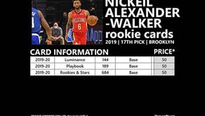 NICKEIL ALEXANDER-WALKER ROOKIE CARDS