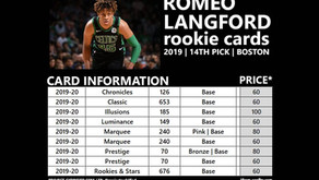 ROMEO LANGFORD ROOKIE CARDS