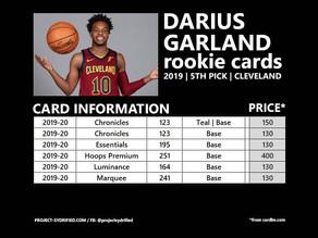 DARIUS GARLAND ROOKIE CARDS