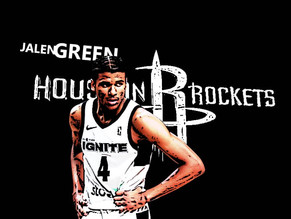 PINOY JALEN GREEN GOING TO THE HOUSTON ROCKETS IS AWESOME (AND I WANT HIS ROOKIE CARDS)