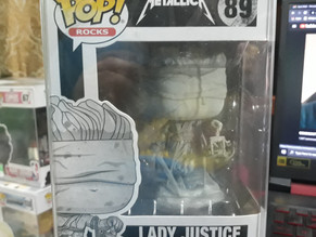 SELLING   METALLICA - LADY JUSTICE - 500PHP - BAD BOX