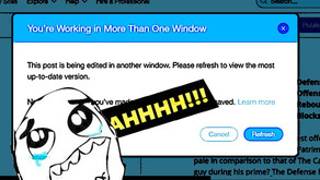 """HOW TO HACK THE WIX'S """"YOU'RE WORKING IN MORE THAN ONE WINDOW"""" PROMPT!"""