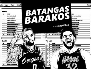 ESPN FANTASY BASKETBALL: BATANGAS BARAKOS 2021 DRAFT RESULTS