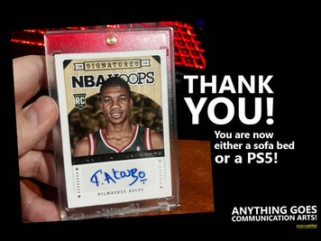 THE DAY I SOLD MY AUTOGRAPHED GIANNIS ANTETOKOUNMPO ROOKIE CARD!