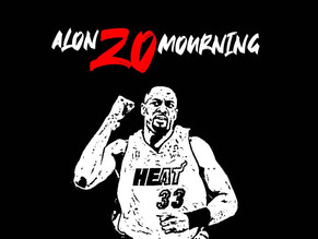 MY ALONZO MOURNING NBA CARDS COLLECTION