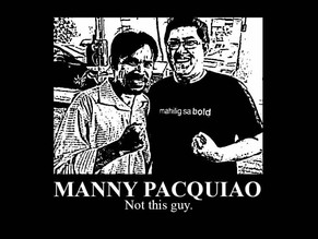 MANNY PACQUIAO IS A DOUBLE-EDGED SWORD