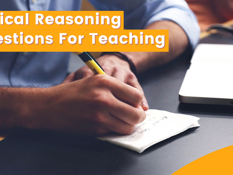 Logical Reasoning Questions For Teaching