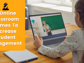 5 Online Classroom Games To Increase Student Engagement