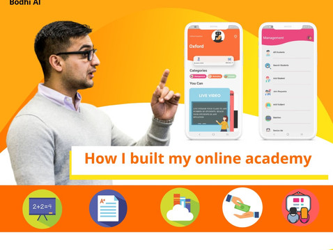 How I built my online academy