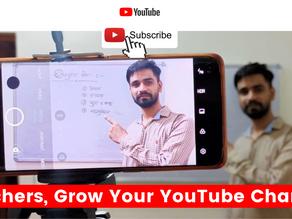 Teachers, Grow Your YouTube Channel