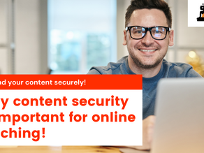 Why content security is important!