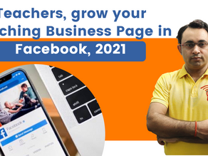 Grow your Coaching Business Page in Facebook, 2021