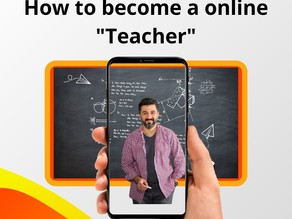 """How to become a online """"teacher"""""""