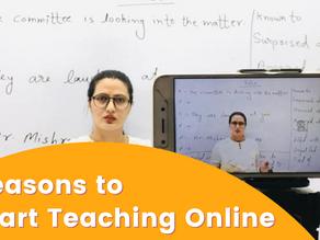 6 Reasons to Start Teaching Online