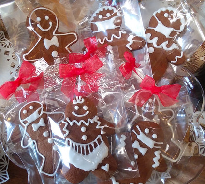 Delicious gingerbreads by Eileen