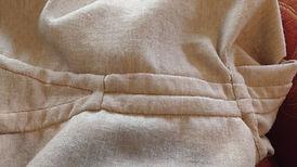 Detailsansicht Wikingerkleidung für die Frau - Übergewand aus Wolle