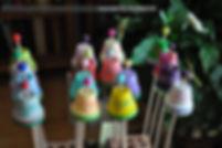 Gartendeko - Töpfe auf der Trocknungsstation Bachstein