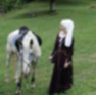 Mittelalter - Kleidung für die Frau